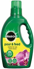 Miracle-Gro Plant Food- Pour and Feed Ready to Use - 1 Litre