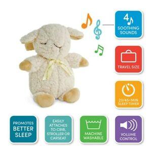 NRFB cloud b Sleep Sheep on the Go Plush 4 Soothing Sounds Machine Travel Timer