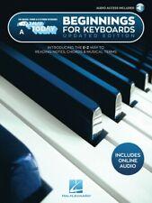 Comienzos para teclados edición actualizada Partituras E-Z jugar libro 000302741