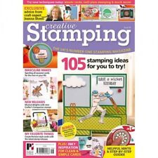 CREATIVE STAMPING MAGAZINE ISSUE 56 + SPORTING JOANNA SHEEN STAMPS & IZINK INK