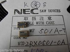 WF501A  244.1MHz  SAW FILTER SMD 10contacts  NEC