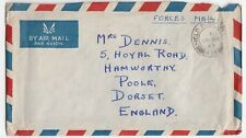 GB 1947 Forces FPO 475 CDS On Air Mail Cover FDC From 2248235 Dennis R To Poole