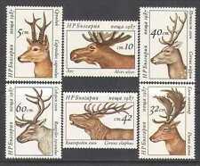 Bulgaria 1987 Deer/Animals/Wildlife 6v set (n24888)