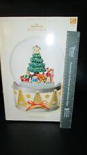 Rare Signed Muscial Limited Edition Hallmark Christmas Snow Globe Drum Tabletop