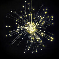 100-150LED Firework LED Copper Wire Strip Fairy String Lights Xmas Party Decor