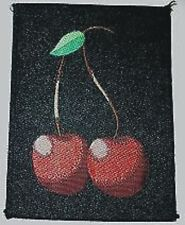 OFFICIAL Cherries WOVEN PATCH
