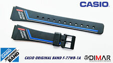 VINTAGE CASIO ORIGINAL BAND / STRAP F-77WB-1A NOS