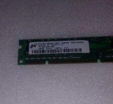 MICRON 128MB SDRAM PC100  CL2 16X16 4CHIPS 168PIN DIMM NON-ECC