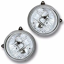 Fits 03-04 Jeep Liberty Driver + Passenger Side Headlight Lamp Assembly 1 Pair