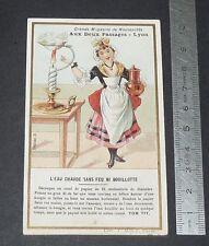 CHROMO 1895-1910 AUX 2 PASSAGES LYON TOM TIT ARTHUR GOOD EAU CHAUDE SANS FEU