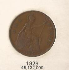 GREAT BRITAIN 1929 KING GEORGE V PENNY COIN