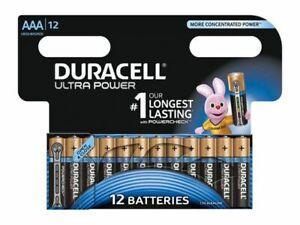 12x Duracell Micro AAA LR3 Batterie Ultra Power Battery 12 Stück mit Powercheck