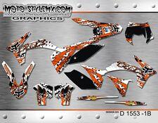 KTM EXC 125 200 250 300 450 525 2012 2013 graphics decals kit Moto StyleMX