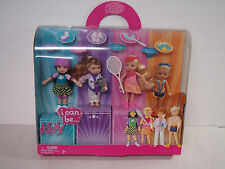BARBIE Dolls **I CAN BE SPORTS SET**  Kelly Tommy NEW