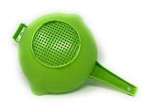 Tupperware 2 Qt Colander Strainer In Green