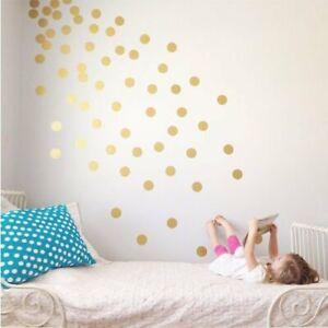 Set of 60 Polka Dot Wall Stickers Decal Child's Kids Vinyl Art Decor spots
