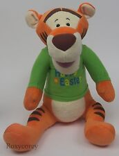"Disney Winnie The Pooh 22"" Happy Easter Spring Tigger Soft Plush Toy"