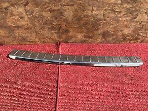 MERCEDES X164 GL550 GL350 GL450 REAR BUMPER CHROME SKID PLATE SILL STEP OEM 117#