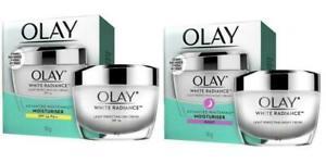 Olay Day & Night Cream White Radiance Light Perfecting reducing dark spots 50g