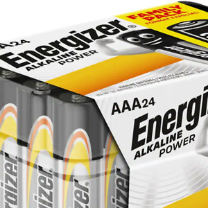 24 TUB ENERGIZER AAA POWER PLUS ALKALINE BATTERIES MN2400 LR6 BATTERY LONG EXP