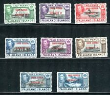 FALKLAND ISLANDS DEP 3L1-3L8, 1944 SOUTH GEORGIA, MINT, OG, VLH  (FAL008)