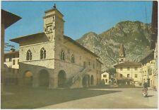 VENZONE - MUNICIPIO - VESPA O LAMBRETTA (UDINE) 1966