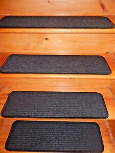 13  Step  9'' x 30''  In/Outdoor Stair Treads Non-Slip Vinyl .