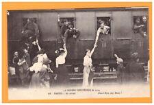 NANTES (44) TRAIN SANITAIRE MILITAIRES ANGLAIS de la CROIX-ROUGE en 1914