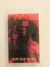 REDMAN Blow Your Mind 1992 CASSETTE SINGLE New SEALED Method Man Wu-Tang Clan
