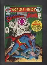 World's Finest 202 Vf+ 8.5 Adams Cover Superman Batman Hi-Res Scans