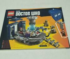 Lego Ideas Doctor Who Dr who Instruction Manual Collectors full color book 21304