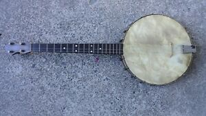 Vintage Tenor Banjo Early 1900's