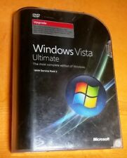 Windows Vista Ultimate upgrade with SP1 Upgrade 32 & 64 66R-02262 product key