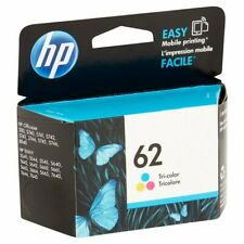 HP #62 Color Ink Cartridge C2P06AN GENUINE NEW