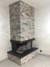 Travertino a spacco in pietra per rivestimento pareti interni / esterni h 5 cm