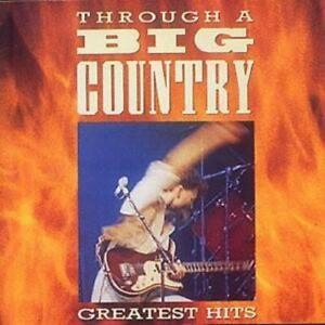 Big Country : Through A Big Country: Greatest Hits CD (1996) Fast and FREE P & P