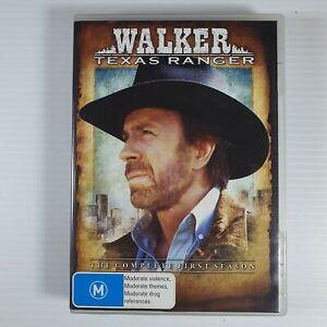 WALKER TEXAS RANGER - CHUCK NORRIS - THE FIRST   SEASON  - 7  DISC  - REG . 4