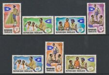 Togo - 1968, Togolaise Scouts set - Perf - MNH - SG 613/19
