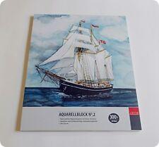 Aquarellblock No. 2, AMI, 300 g/m², 24 x 32 cm, fein, Künstlerpapier, -Neu-