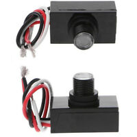 2x Outdoor Hard-Wired Post Eye Light Control with Photocell Light Sensor JL-103A