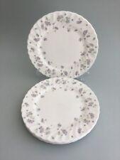 "WEDGWOOD 'April Flowers' 8 1/2"" Bone China Salad Plates x 5 - 1st Quality"