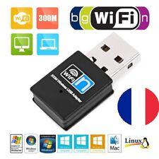 Cle WiFi 300 mbps - MINI dongle usb - clé wifi clef wifi carte réseau sans fil