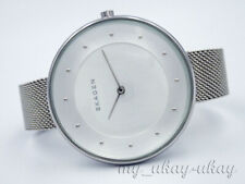 SKAGEN SKW2326 Silver Dial All Stainless Steel Mesh Band Ladies Dress Watch