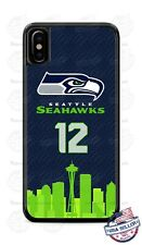 Seattle Seahawks Football Logo Phone Case Cover For iPhone Samsung LG Google