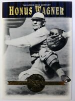 2001 01 Upper Deck Cooperstown Collection Honus Wagner #31, Pittsburg Pirates
