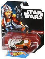 STAR WARS HOT WHEELS MODELLINO MODELLO - Skywalker Luke - asst. CGW35 dtb05