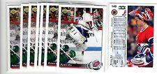 1X PATRICK ROY 1992 93 Upper Deck #149 NMMT Montreal Canadiens Lots Available
