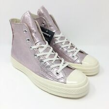 converse platform metallic rosa