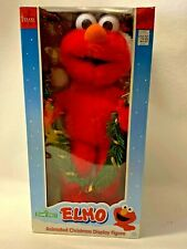 Telco Sesame Street Animated Christmas ELMO Motionette Display Figure 1998 MIB