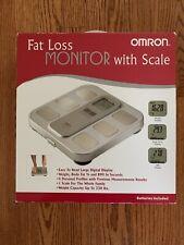 RARE NEW IN BOX Omron HBF-400 Body Fat Loss Monitor With Scale